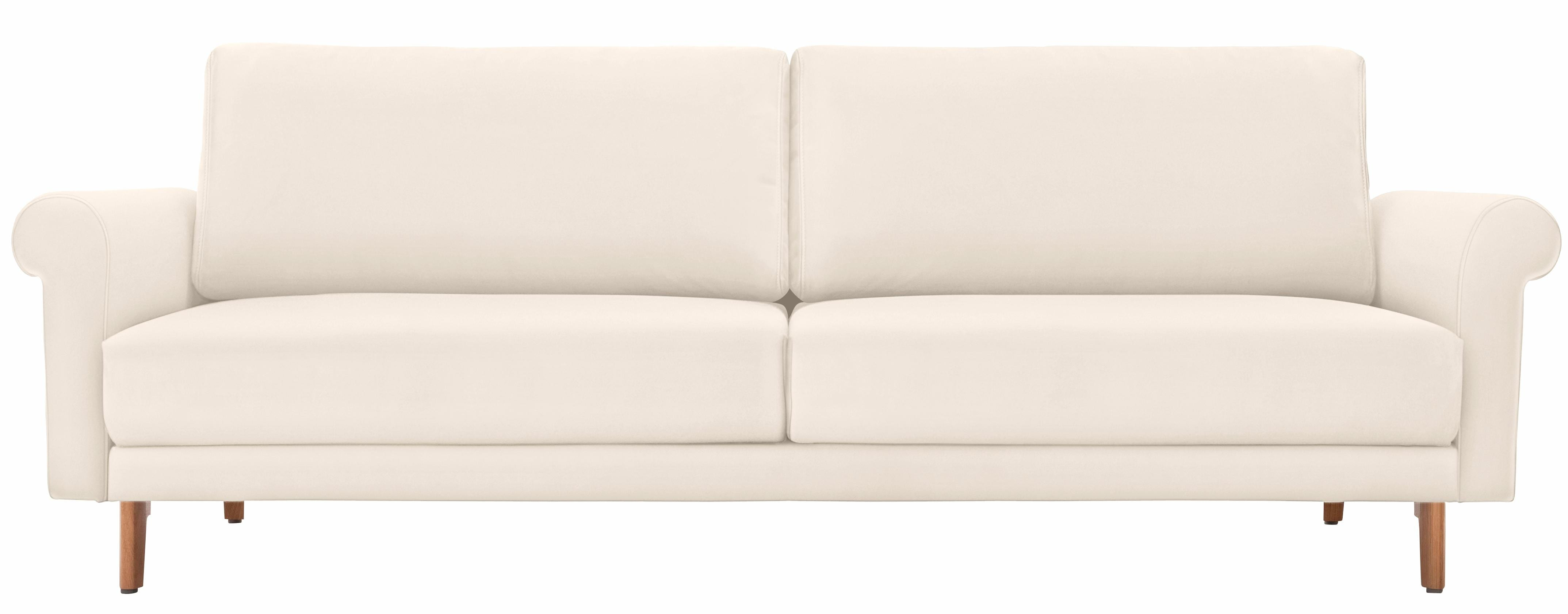 hülsta sofa 3-Sitzer Sofa »hs.450« wahlweise in Stoff oder Leder, im modernen Landhausstil | Wohnzimmer > Sofas & Couches | Leder - Chenille - Polyester - Baumwolle | HÜLSTA SOFA