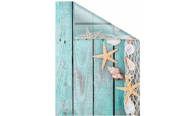 LICHTBLICK Fensterfolie »Bretter Beach«, selbstklebend, Sichtschutz kaufen