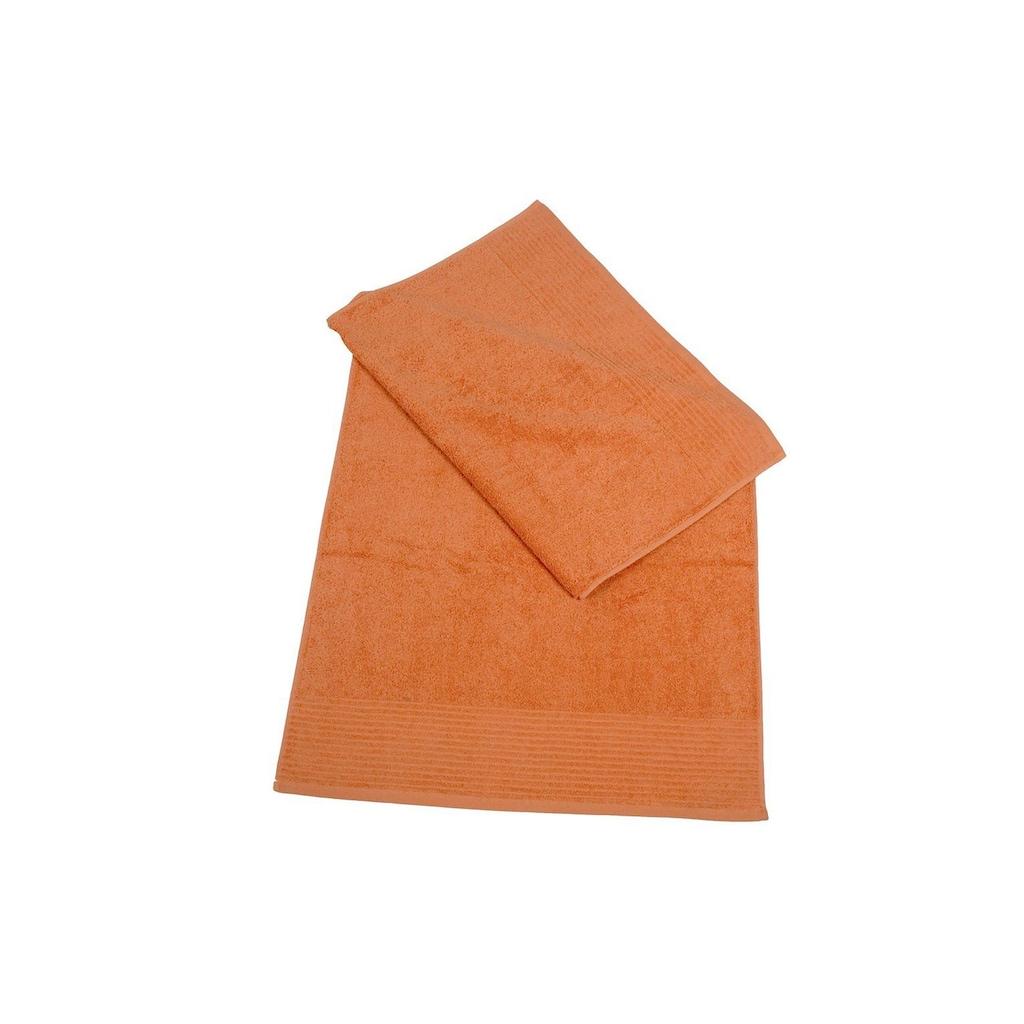 Dyckhoff Badetuch »Brillant«, (1 St.), leichte Streifenbordüre