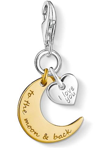 THOMAS SABO Charm - Einhänger »I LOVE YOU TO THE MOON & BACK, 1443 - 413 - 39« kaufen
