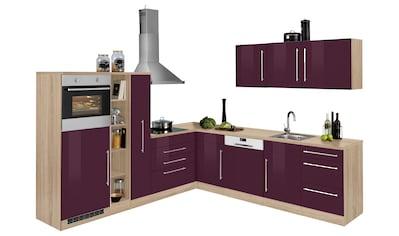 HELD MÖBEL Winkelküche »Samos«, ohne E-Geräte, Stellbreite 260 x 270 cm kaufen