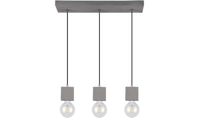 SPOT Light Pendelleuchte »STRONG SQUARE«, E27, 1 St., Hängeleuchte, Echtes Beton -... kaufen