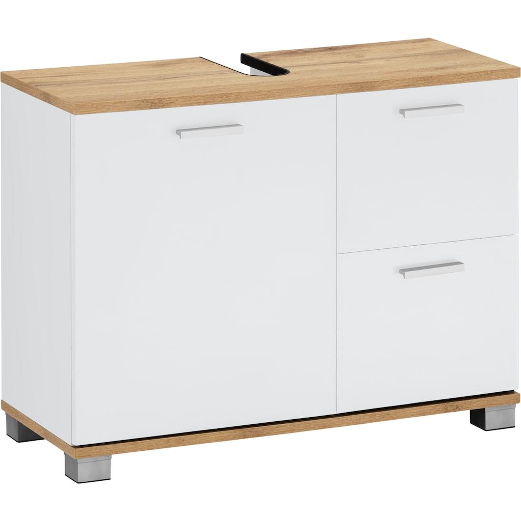 Places of Style Unterschrank »Badus«, Breite 70 cm, mit 2 Schubladen und 1 Tür