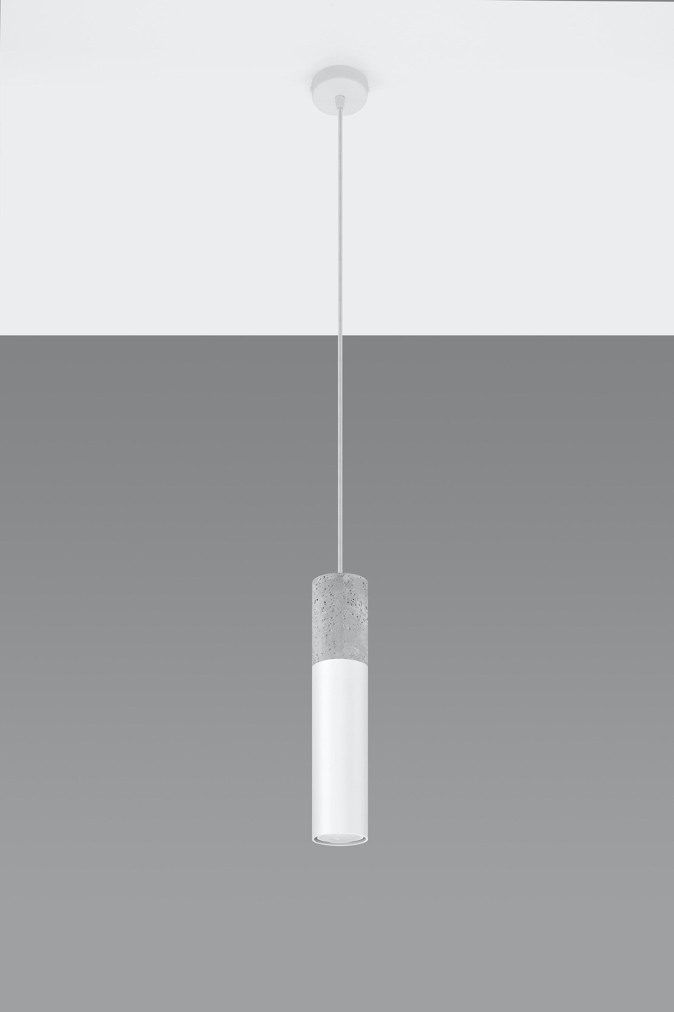 SOLLUX lighting Pendelleuchte Borgio, GU10, 1 St., Hängeleuchte, Hängelampe