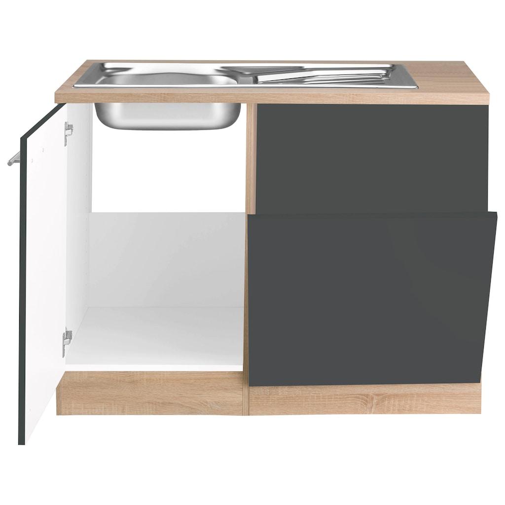 OPTIFIT Spülenschrank »Kalmar«, mit Tür/Sockel für Geschirrspüler