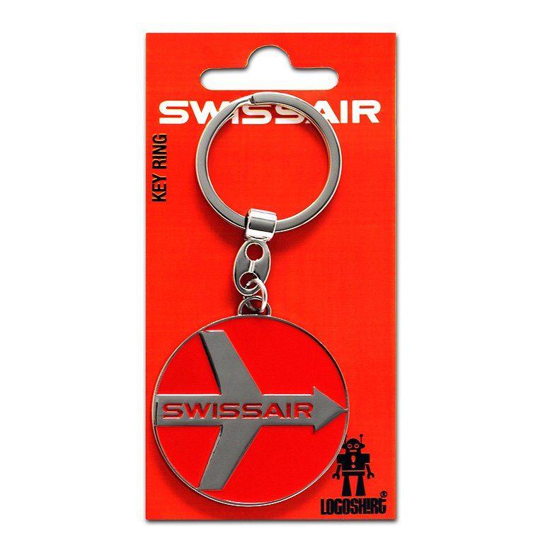 LOGOSHIRT Schlüsselanhänger mit Swissair-Logo | Accessoires > Schlüsselanhänger | Bunt | Logoshirt
