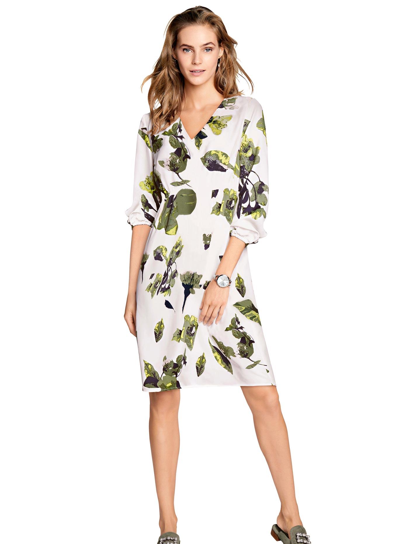 Alessa W Kleid mit auffälligem Blütendruck