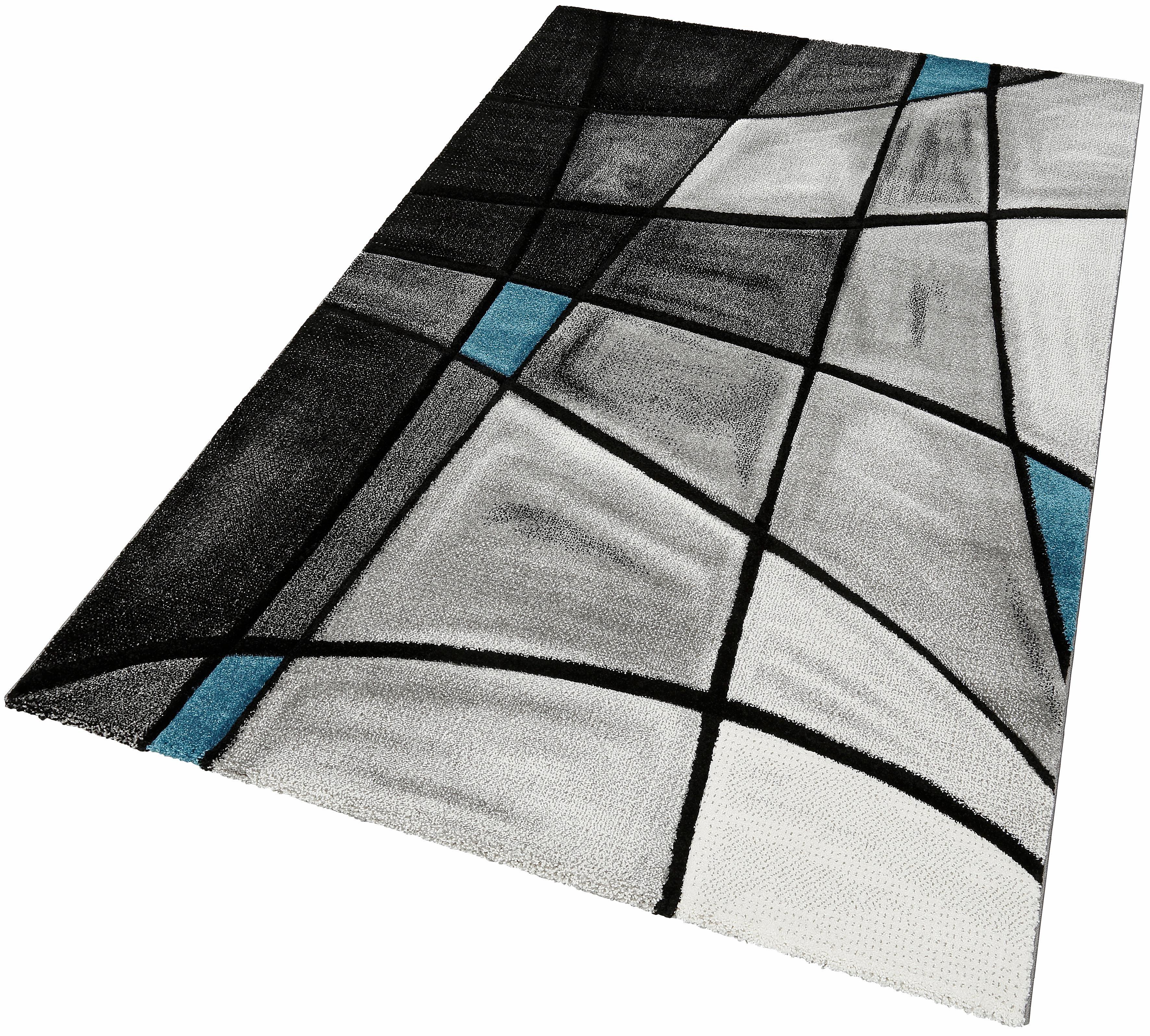 Teppich DOUBS merinos rechteckig Höhe 13 mm maschinell gewebt