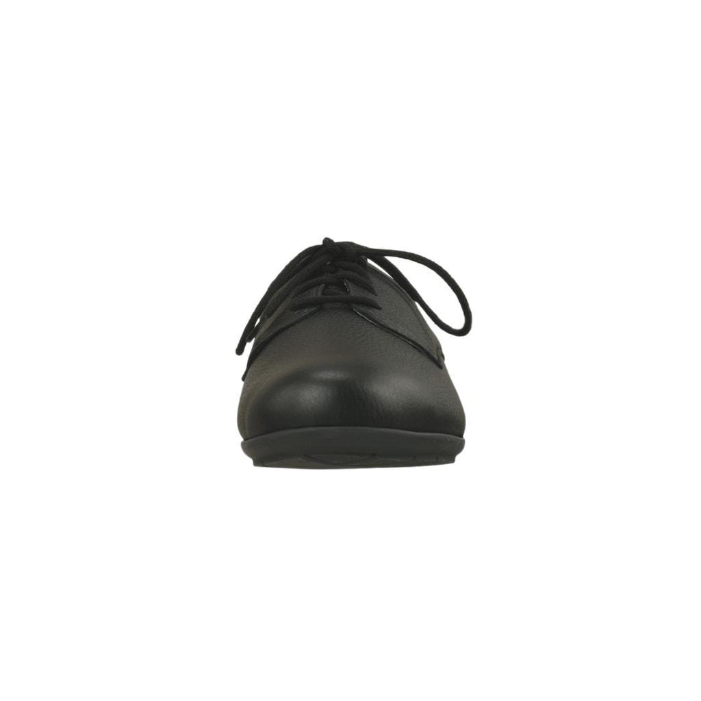Natural Feet Schnürschuh, aus hochwertigem Hirschleder