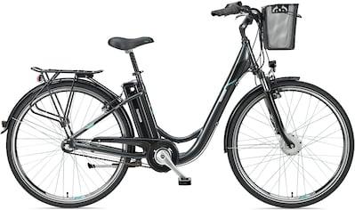 Telefunken E-Bike »Multitalent RC830«, 3 Gang, Shimano, Nexus, Frontmotor 250 W, mit Fahrradkorb kaufen