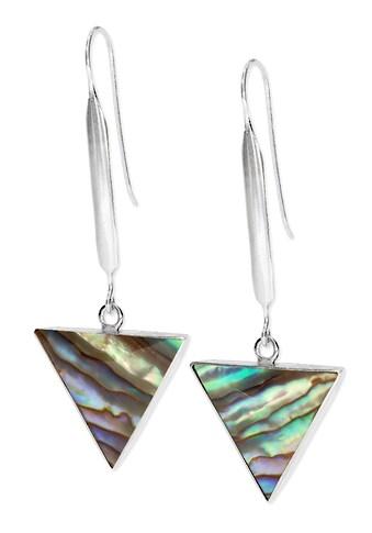 Adelia´s Paar Ohrhänger »Paua Muschel Ohrringe 925 Silber rot«, Paua-Muschel rot kaufen