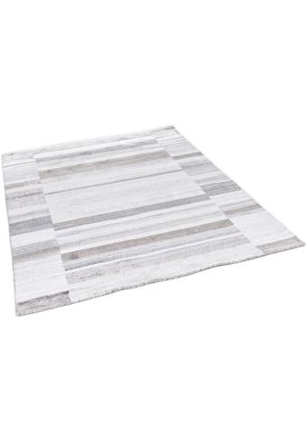 THEKO Teppich »MONTANA LUXURY 973-15«, rechteckig, 13 mm Höhe, Seidenoptik, Obermaterial: 100% Viskose, Wohnzimmer kaufen