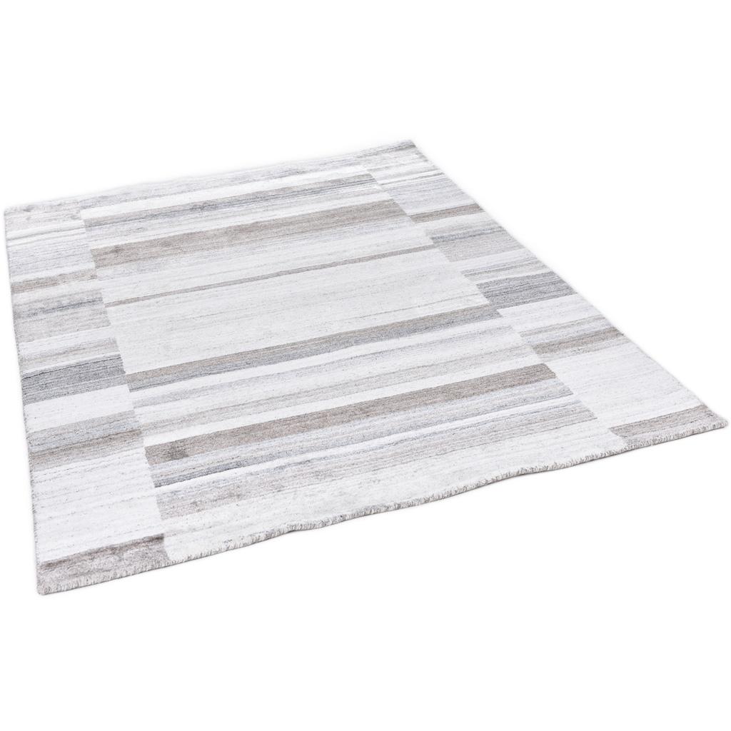 THEKO Teppich »MONTANA LUXURY 973-15«, rechteckig, 13 mm Höhe, Seidenoptik, Obermaterial: 100% Viskose, Wohnzimmer