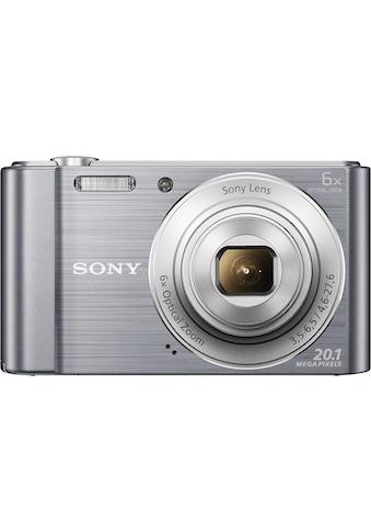 Sony Kompaktkamera »DSC-W810«, Gesichtserkennungstechnologie für bis zu 8 Gesichter... kaufen