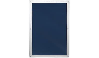 LICHTBLICK Dachfensterrollo »Haftfix Hitzeschutz Abdunkelung«, verdunkelnd, Perlreflex-beschichtet-energiesparend, ohne Bohren, verspannt, mit Thermobeschichtung, mit Saugnapf kaufen