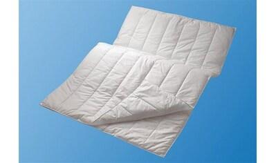 Kunstfaserbettdecke, »Aqua Aktiv«, Centa - Star, Bezug: 100% Baumwolle kaufen