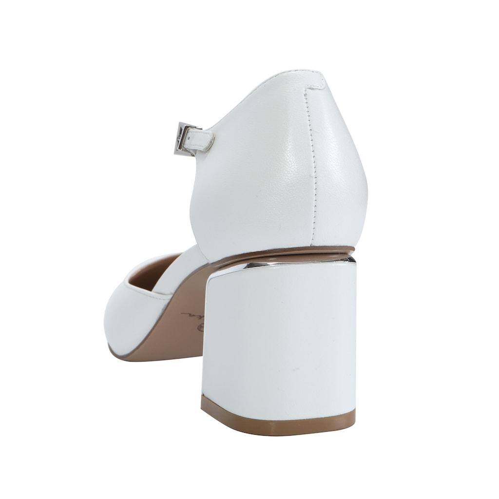 ekonika Pumps, mit elegantem Riemchen