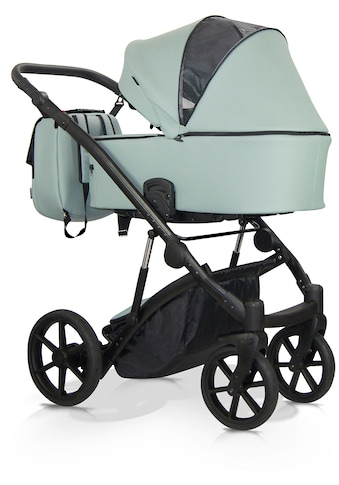 Knorrbaby Kombi-Kinderwagen »Padua, Mintgrün«, Gestell faltbar; Made in Europe;... kaufen
