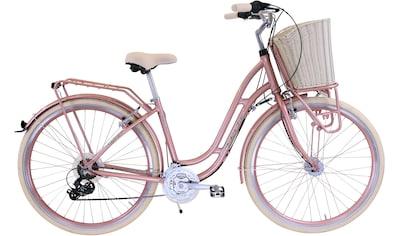 FASHION LINE Cityrad, 21 Gang, Shimano, TOURNEY TY 300 Schaltwerk, Kettenschaltung kaufen