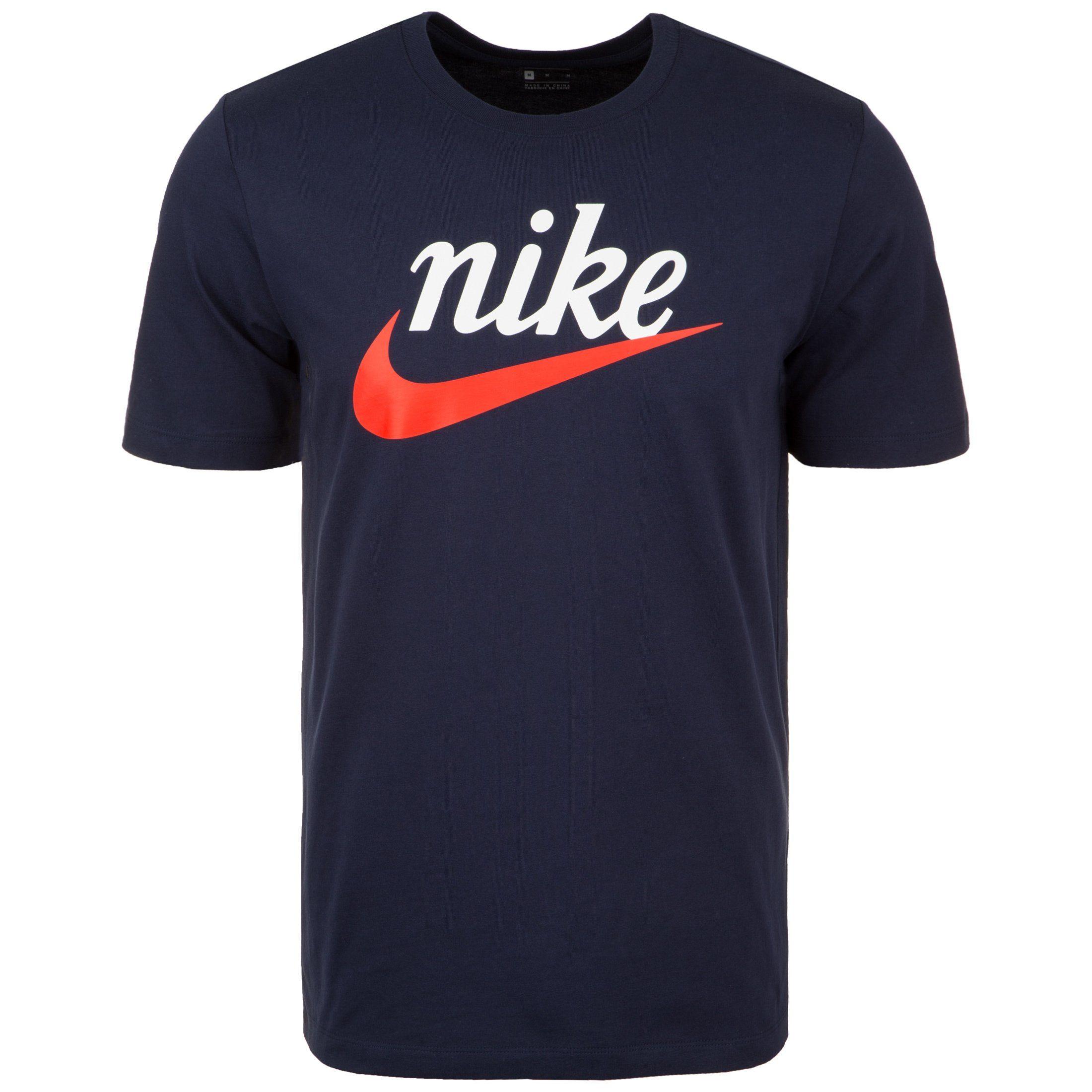 Nike Sportswear Print-Shirt Sportswear Heritage | Sportbekleidung > Sportshirts | Blau | Jersey | Nike Sportswear