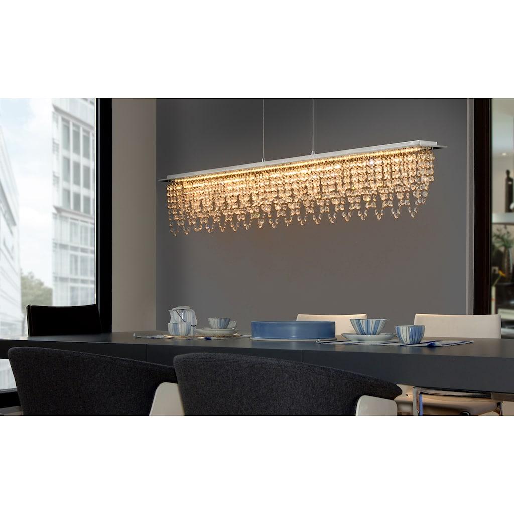 näve LED Pendelleuchte »Diamonds«, LED-Board, 1 St., Warmweiß-Neutralweiß-Tageslichtweiß-Kaltweiß, Hängeleuchte, dimmbar, Farbtemperatur eintellbar