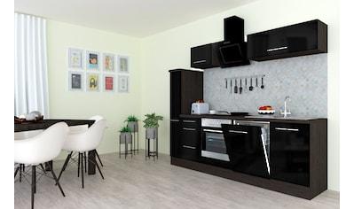 RESPEKTA Küchenzeile »RP250«, mit E-Geräten, Breite 250 cm kaufen