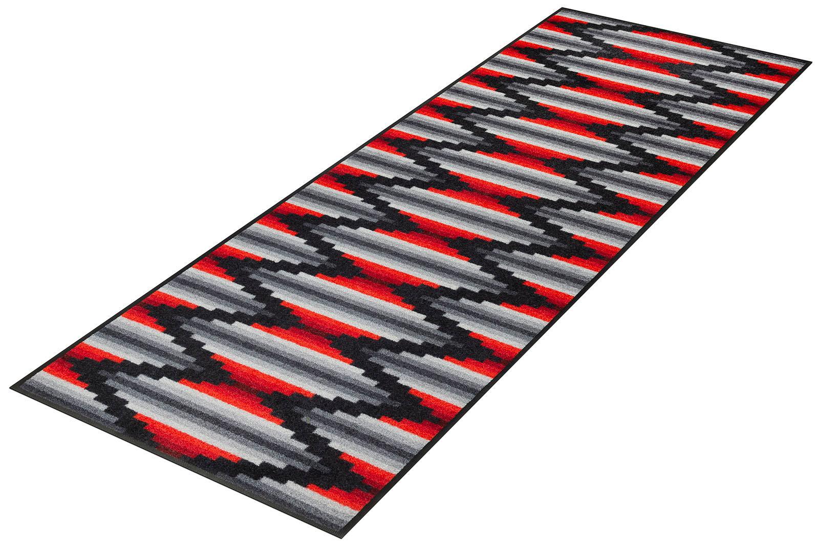 Läufer Ribanna wash+dry by Kleen-Tex rechteckig Höhe 7 mm gedruckt