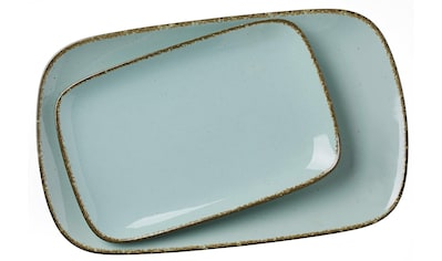 """Ritzenhoff & Breker Servierplatte """"Casa"""", Steinzeug, (Set, 2 - tlg., 1 Platte groß, 1 Platte klein) kaufen"""