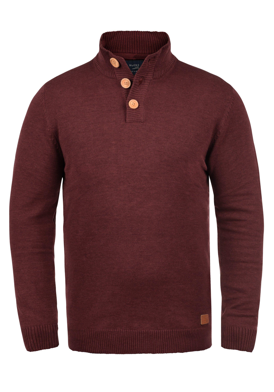 Blend Strickpullover »Lenny« | Bekleidung > Pullover > Sonstige Pullover | Rot | BLEND