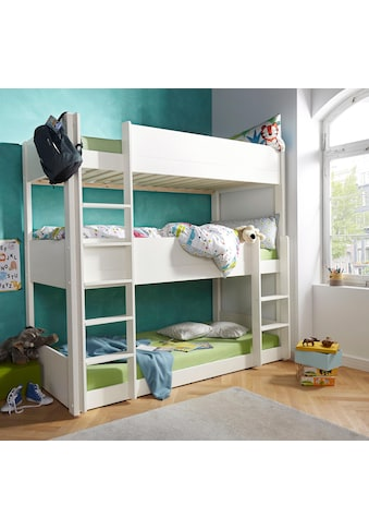 Home affaire Etagenbett »Tipo«, mit 3 Schlafgelegenheiten kaufen