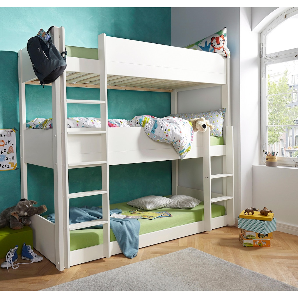 Etagenbett, mit 3 Schlafgelegenheiten