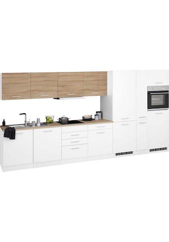 HELD MÖBEL Küchenzeile »Visby«, mit E-Geräten, Breite 390 cm kaufen