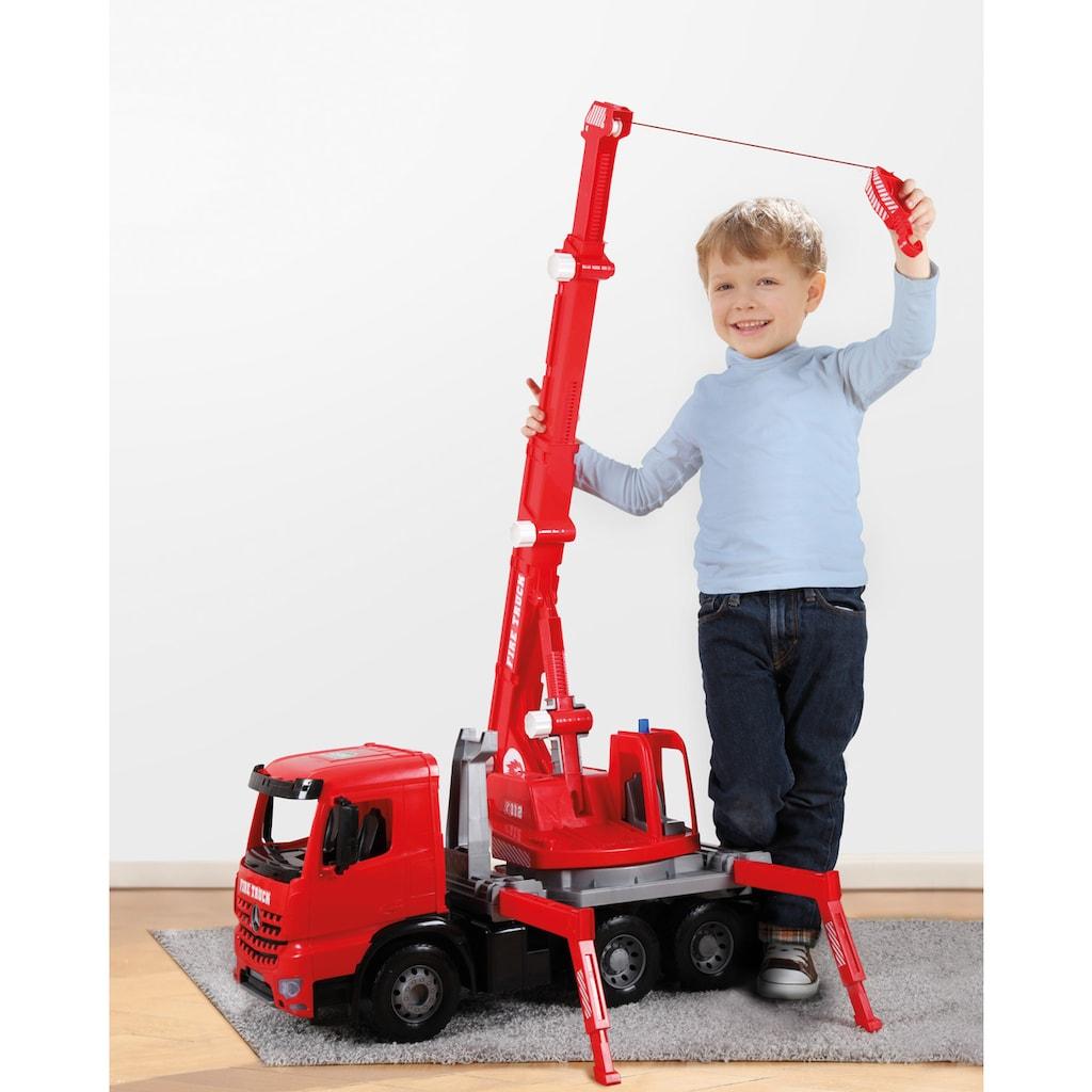 Lena® Spielzeug-Feuerwehr »Giga Trucks, Feuerwehrkran Arocs«, Made in Europe