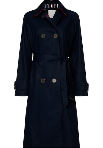 TOMMY HILFIGER Trenchcoat »TH ESS DB MAXI TRENCH« kaufen
