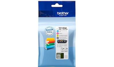 Brother »LC 3219 XL Multipack, Cyan, Gelb, Magenta, Schwarz« Tintenpatrone kaufen