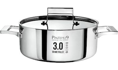 PINTINOX Bratentopf »Century 3.0«, Aluminium, (1 tlg.), Boden und Seitenwände komplett... kaufen