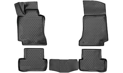WALSER Passform-Fußmatten »XTR«, Mercedes, C-Klasse, Stufenheck, (4 St., 2... kaufen
