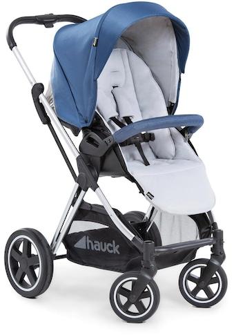 Hauck Kinder-Buggy »Mars, denim/silver«, mit Beindecke; Kinderwagen, Buggy,... kaufen