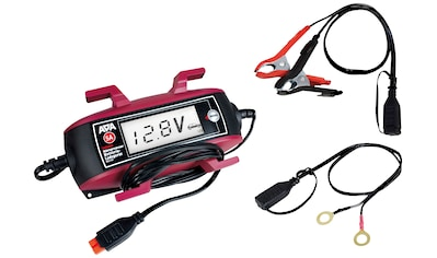 APA Batterieladegerät »6V/12V, 5A «, mit Kabelaufroller und großem Display kaufen