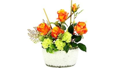 I.GE.A. Kunstpflanze »Rosen/Schneeball« kaufen