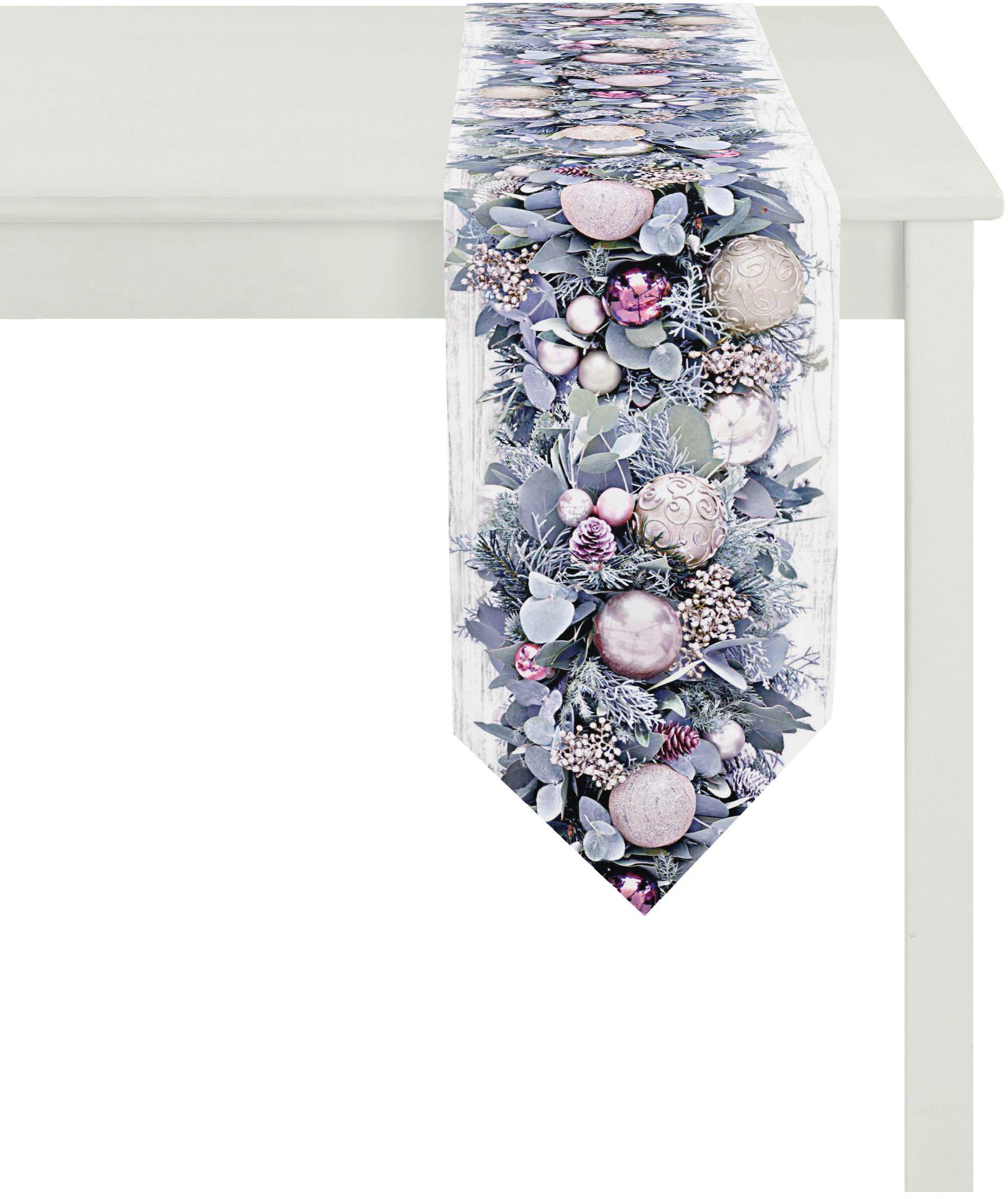 tischband 4696 winterwelt apelt 1 tlg auf rechnung. Black Bedroom Furniture Sets. Home Design Ideas