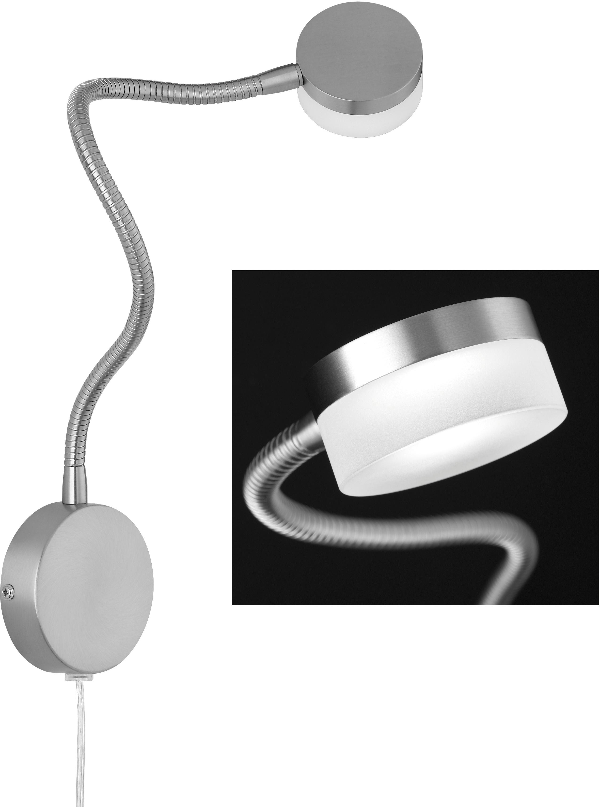 FISCHER & HONSEL LED Wandleuchte Lug, LED-Modul, Warmweiß