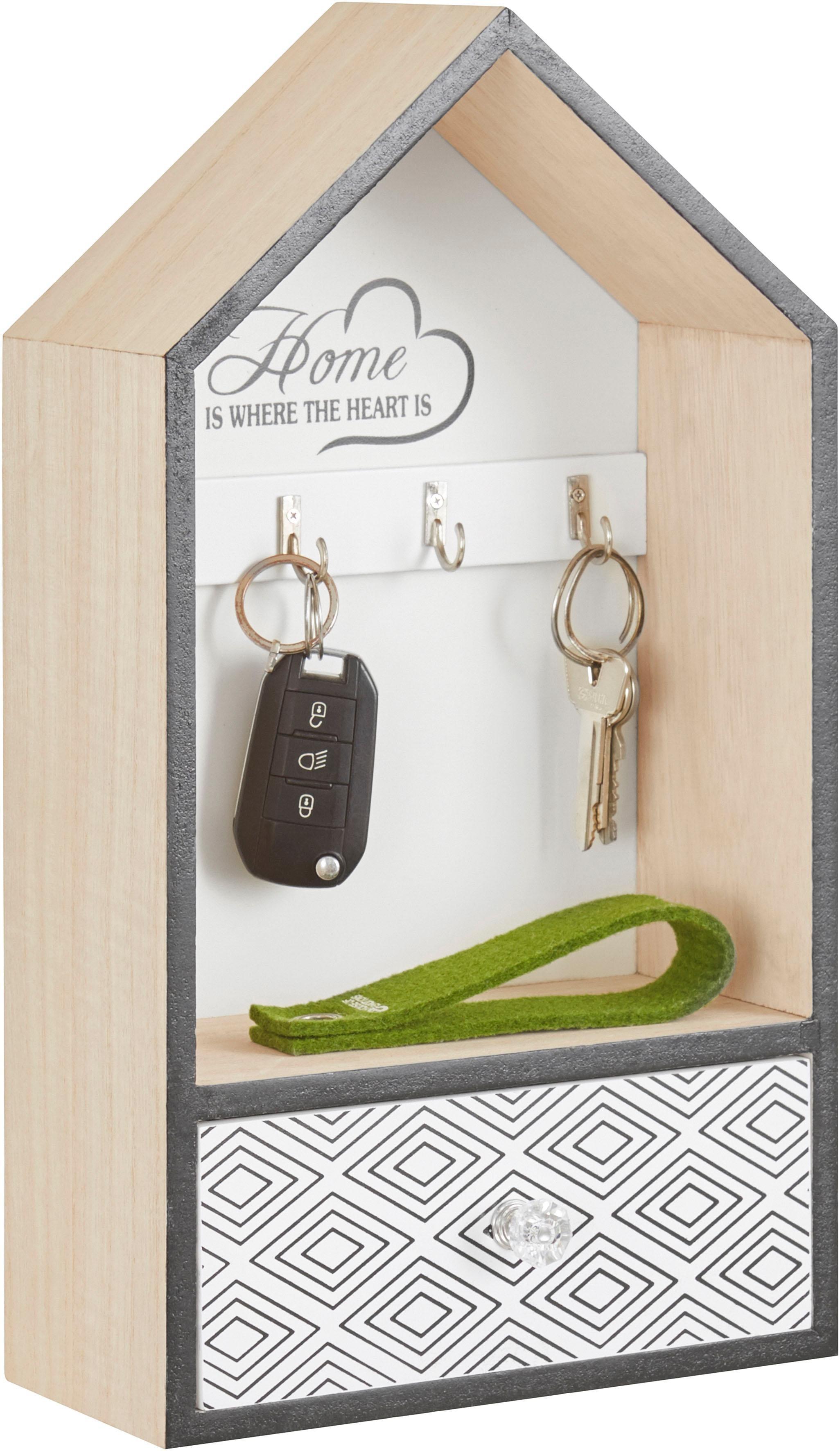 Home affaire Schlüsselkasten Wohnen/Möbel/Garderoben/Schlüsselkästen