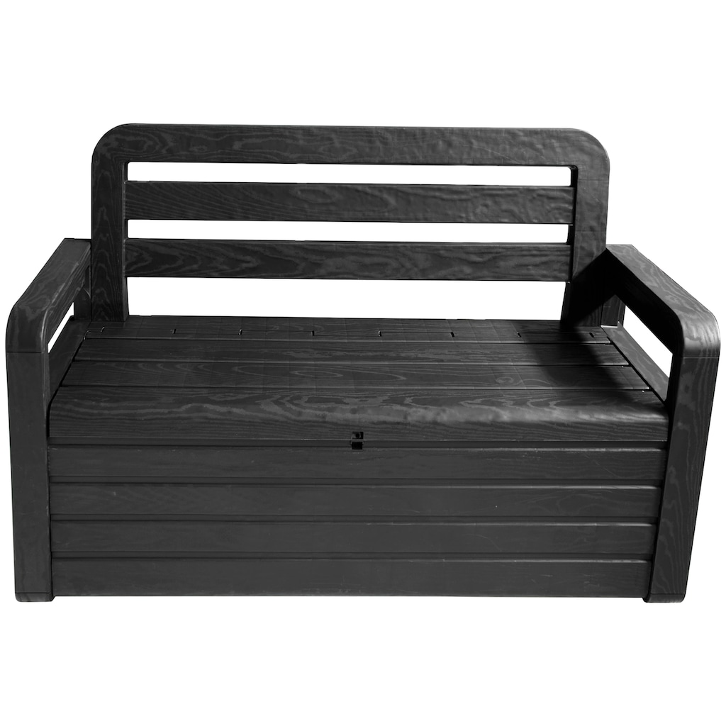 ONDIS24 Truhenbank »Spring«, Sitzbank mit Kissenbox aus Kunststoff