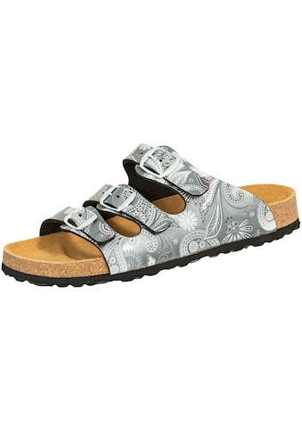Sandale »560237«, Lico Pantolette Bioline anthrazit kaufen
