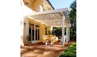 FLORACORD Sonnensegel »Bausatz Universal«, BxL: 330x140 cm, elfenbein kaufen