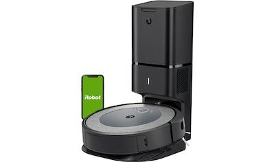 iRobot Saugroboter »Roomba® i4+ (i4558) WLAN-fähig mit Kartierung und automatischer Absaugstation,«, ideal bei Haustieren kaufen