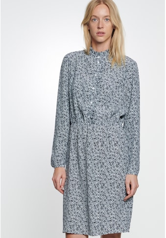 seidensticker Sommerkleid »Schwarze Rose«, Langarm Kragen Druck kaufen
