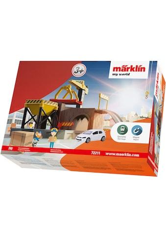"Märklin Modelleisenbahn - Gebäude ""Märklin my world  -  Güterverladebahnhof  -  72211"", Spur H0 kaufen"
