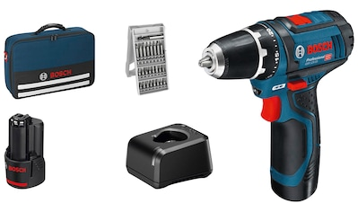 Bosch Professional Akku-Schrauber »GSR 12V-15 Professional«, mit ausgewogenem Verhältnis zwischen Leistung und Größe kaufen